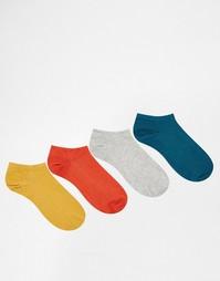 Комплект из 4 пар спортивных носков Jack & Jones - Мульти