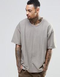 Oversize‑футболка Other UK - Stone