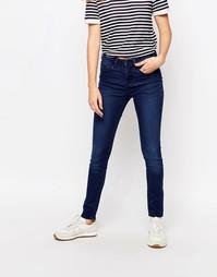 Облегающие джинсы с классической талией Waven Asa - Синее родео