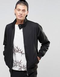 Черная куртка на подкладке в полоску Element Wills - Черный кремень