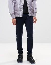 Облегающие спортивные брюки в строгом стиле со вставками ASOS