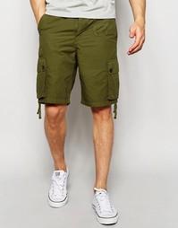 Шорты цвета хаки с карманами Pretty Green - Хаки