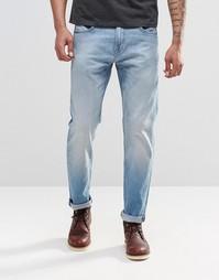Синие джинсы слим Lee Arvin - Пляжный голубой