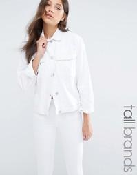 Джинсовая куртка Waven Tall - Белый