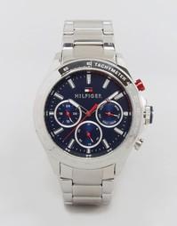 Часы Tommy Hilfiger Hudson 1791228 - Серебряный