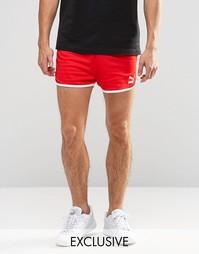 Винтажные шорты Puma эксклюзивно для ASOS - Красный