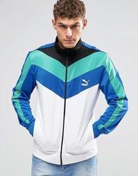 Спортивная куртка в винтажном стиле Puma - Белый