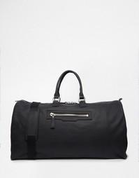 Кожаная сумка Smith And Canova - Черный