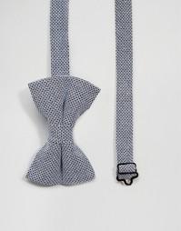 Фактурный галстук-бабочка ASOS - Темно-синий