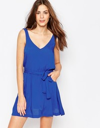 Пляжное платье с завязкой Phax - 415 azul marino