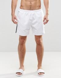 Белые шорты для плавания Hugo Boss Seabream - Белый
