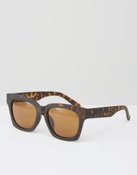 Квадратные солнцезащитные очки Toyshades Havana