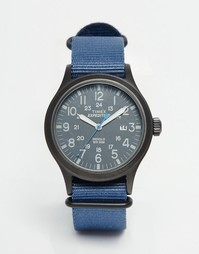 Синие часы Timex Expedition Scout TW4B04800 - Темно-синий