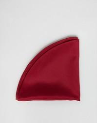 Бордовый платок для пиджака ASOS - Burgundy