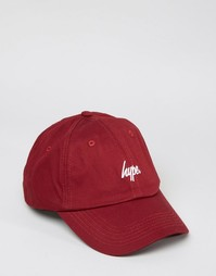 Бейсболка Hype - Красный