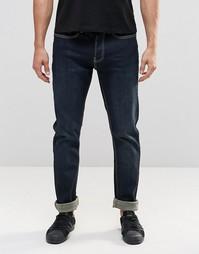 Темные джинсы слим LDN DNM - Темно-синий