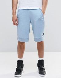 Трикотажные джинсовые шорты Nike Jordan Jumpman 642453-470 - Синий