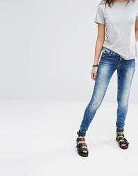 Супероблегающие джинсы Noisy May Eve - Синий 34 дюйма