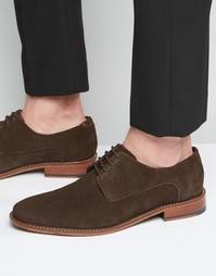 Замшевые туфли дерби Ted Baker Joehal - Коричневый