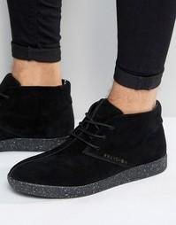 Замшевые кроссовки чукка Religion - Черный
