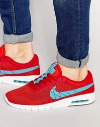 Кроссовки Nike SB Koston Max 833446-641 - Красный