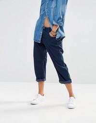 Свободные джинсы бойфренда с заниженной талией G-Star 3D - Синий