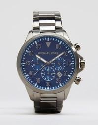 Часы из нержавеющей стали с хронографом Michael Kors Gage MK8443
