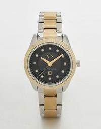 Часы из комбинированного металла Armani Exchange Dylan AX5433 - Мульти
