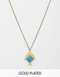 Ожерелье с подвеской The 2Bandits Indian Summer - Золотой