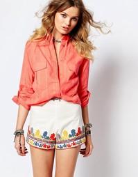 Рубашка абрикосового цвета Gat Rimon - Оранжевый
