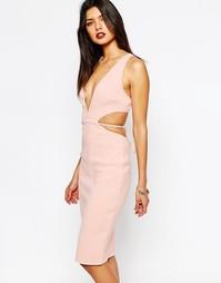 Платье с вырезами Bec & Bridge Desert of Paradise - Розовый