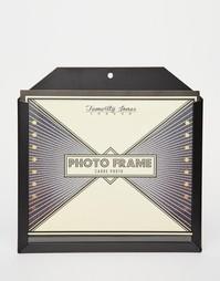 Большая черная карманная рамка для фото Temerity Jones - Мульти