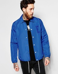 Синяя спортивная куртка с логотипом Edwin - Королевский синий