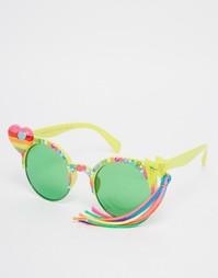 Солнцезащитные очки с кисточкой Spangled I Heart Rainbows
