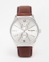 Часы с коричневым кожаным ремешком Ben Sherman Spitalfields