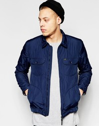 Стеганая куртка Lee - Темно-синий