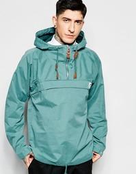 Зеленая куртка через голову Fat Moose Sailor - Зеленый