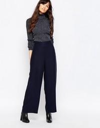 Темно-синие брюки свободного кроя Just Female Triba - Темно-синий