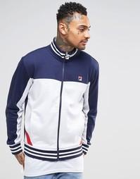 Спортивная куртка со вставками Fila Vintage - Белый