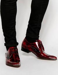 Кожаные туфли дерби Jeffery West - Красный