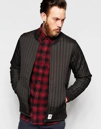 Черная куртка-пилот Fat Moose Lumber - Anthracite