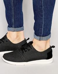 Кроссовки Toms Del Rey - Черный