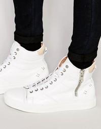 Высокие кроссовки Kurt Geiger Procell - Белый