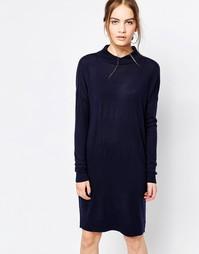 Темно-синее платье Just Female Air - Насыщенный темно-синий