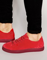 Замшевые кроссовки Selected Homme Dylan - Красный