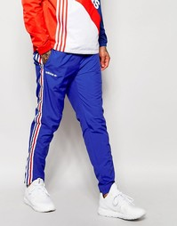 Джоггеры с трехцветной отделкой adidas Originals AJ7325 - Синий