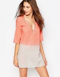 Пляжное платье мини Phax - 690 коралловый
