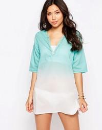 Пляжное платье мини Phax - 440 azul turquesa