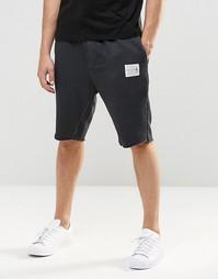 Трикотажные шорты маслянистого цвета Religion - Выбеленный черный