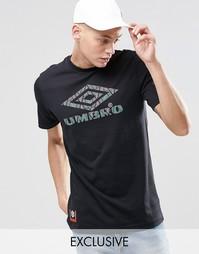 Футболка с ацтекским логотипом Umbro - Черный